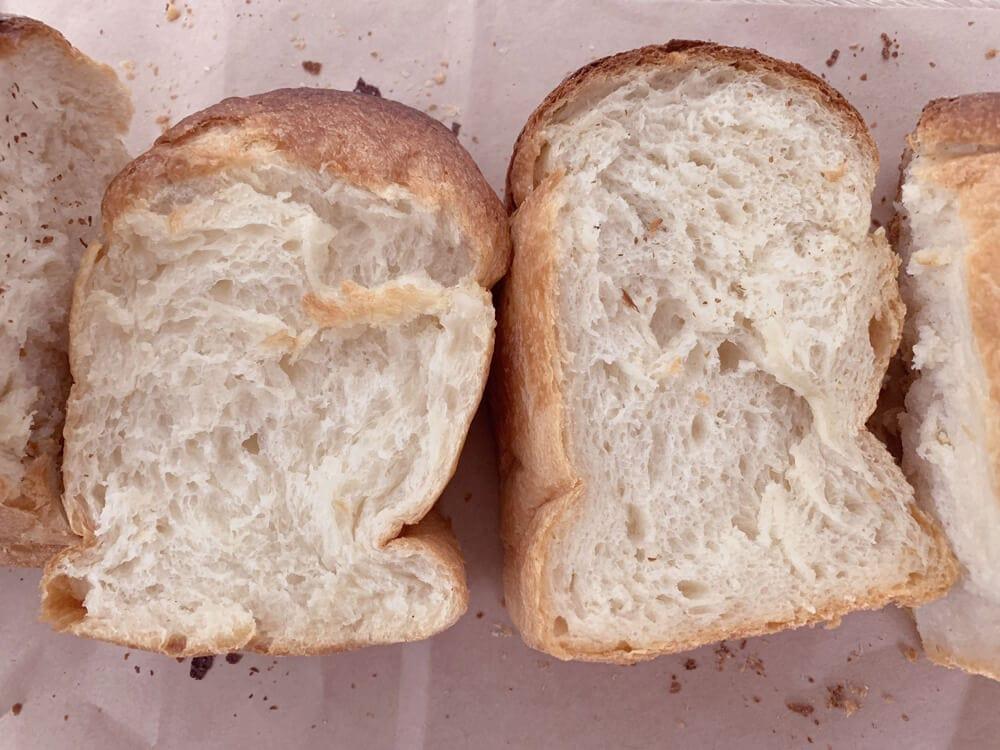 マルメリブレッド 食パン断面