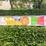 「イタリア・ボローニャ国際絵本原画展」で入賞した作品に「西宮北口駅」が描かれてる
