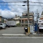 久出川ぞいの阪高ファインパーク夙川駅北のコインパーキングが10月29日に閉鎖