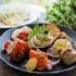 イタリアン・フレンチレストラン『るこら・るっこら』の「前菜盛り合わせ」と「淡路玉葱とアンチョビのピザ」(グルメシティー今津店近く)【にしつーグルメ】