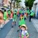 先週日曜日の西宮でいた緑色ゼッケンの集団