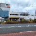 臨港線ぞい上田西町でつくってる「くら寿司」のオープン日は12月7日。看板めっちゃついてる