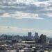 上甲東園にある門戸天神社の参道から見た西宮の景色【西宮フォト】